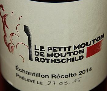 Le Petit Mouton 18,5 points on 20 for the 2015 vintage