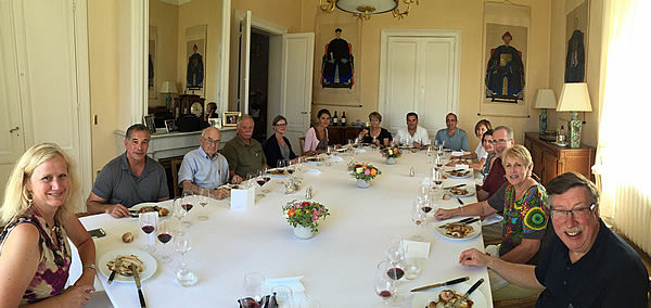 Another highlight: a private Chateau Lunch at a venue not open to the public