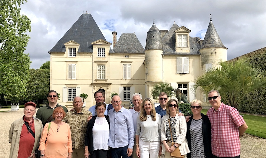 See and taste all five First Growths with the Bordeaux Wine Experience (here at Chateau Haut Brion)