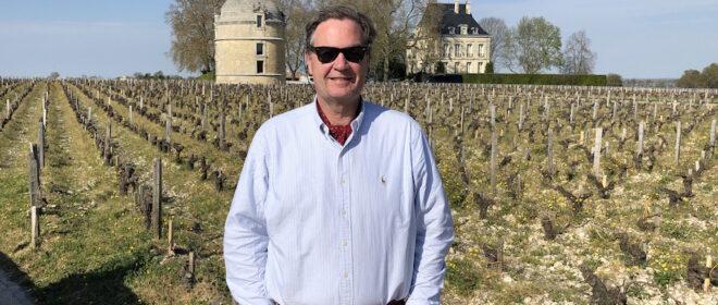 Ronald Rens at Chateau Latour to taste the Latour 2018