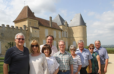 Visiting and tasting at legendary Chateau Yquem