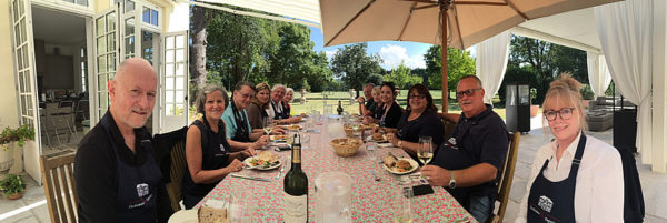 A cooking class followed by a lunch on the patio of Chateau Coulon Laurensac is an unforgettable experience