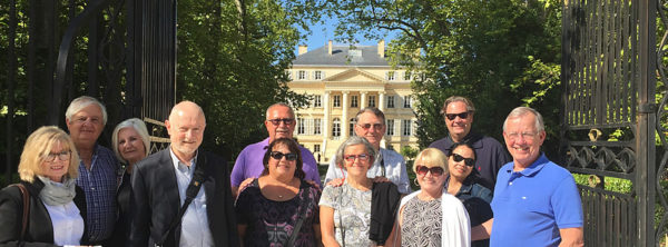 Visiting First Growth Chateau Margaux is an highlight on the Grand Tour of Bordeaux