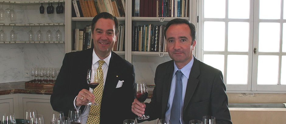 With Philippe Delmas (Haut Brion)