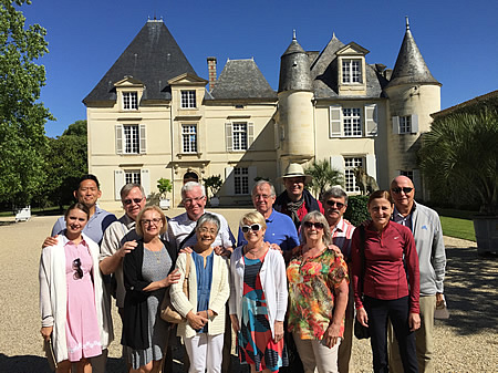 The June 2017 Bordeaux Grand Cru Tour at Haut Brion