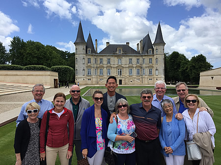 The June 2017 Grand Cru Tour at Pichon Longueville Baron
