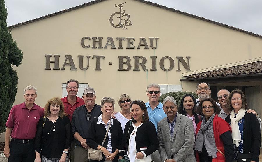 The 2018 Bordeaux Grand Cru Harvest Tour I at Chateau Haut Brion