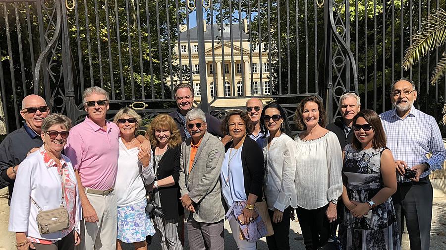 The 2018 Bordeaux Grand Cru Harvest Tour I at Chateau Margaux