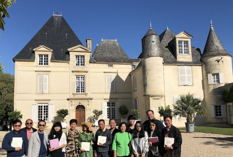 The 2018 Bordeaux Grand Cru Harvest Tour II at Chateau Haut Brion