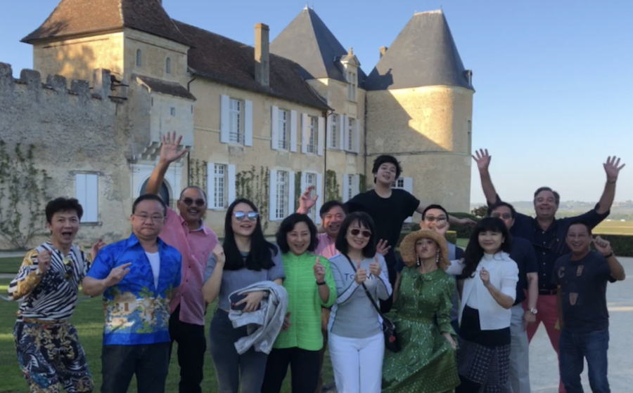 The 2018 Bordeaux Grand Cru Harvest Tour II at Superior First Growth Chateau d'Yquem