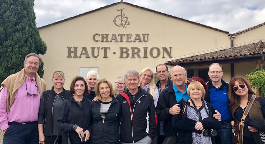 The 2018 Bordeaux Grand Cru Harvest Tour III at Chateau Haut Brion