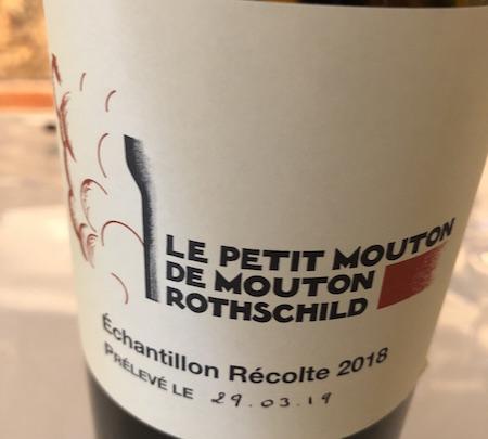 Le Petit Mouton de Mouton Rothschild 2018