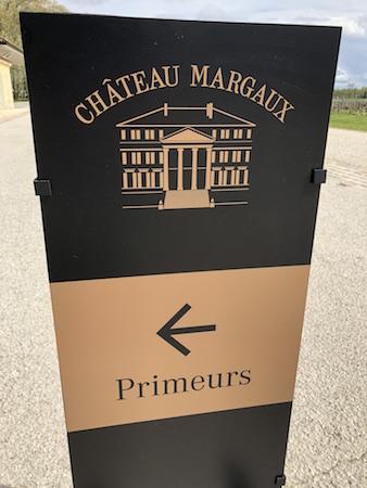 Chateau Margaux 2018 futures tasting