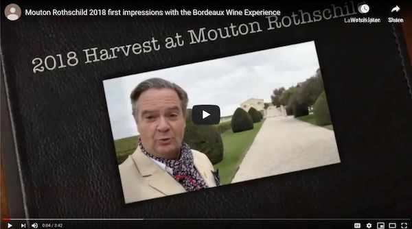 Click here to see a video about tasting Mouton Rothschild 2018 from barrel