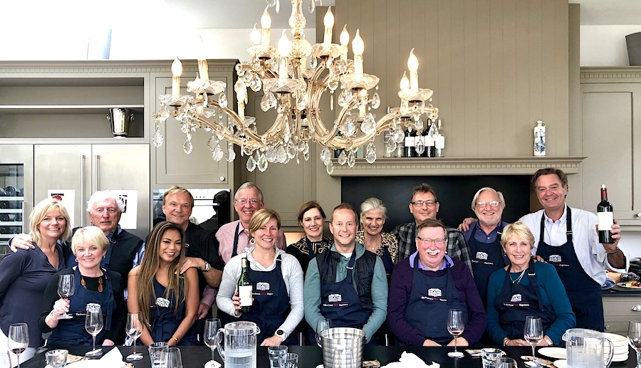 The cooking class is an incredible wine-soaked team-building experience where we all have so much fun that it remains one of the unbeatable highlights on our tours.