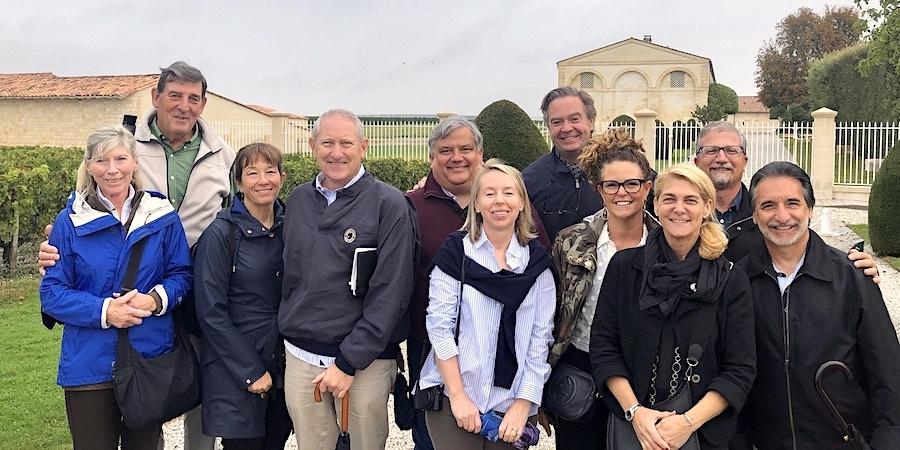 The 2019 Bordeaux Grand Cru Harvest Tour 2 at Mouton Rothschild