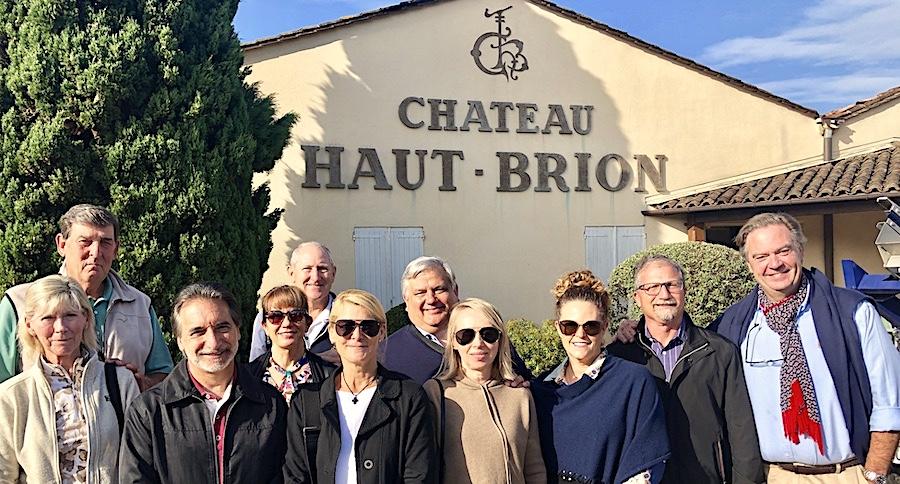 The 2019 Bordeaux Grand Cru Harvest Tour 2 at Chateau Haut Brion